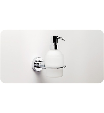 SONIA 48610026 Tecno Project Soap Dispenser in Glass/Chrome