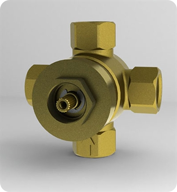 TOTO TSMX Three-Way Diverter Valve with Off