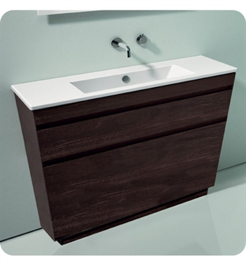 Catalano ST1052DR-V01 Star 105 Vanity Base Cabinet with Two Drawers With Finish: Walnut Burl (Wood Veneer)