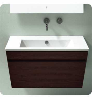 Catalano ST0801DR-V06 Star 80 Vanity Base Cabinet with One Drawer With Finish: Walnut Crown (Wood Veneer)