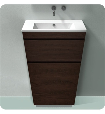 Catalano ST0802DR-V10 Star 80 Vanity Base Cabinet with Two Drawers With Finish: Silver Ash (Wood Veneer)