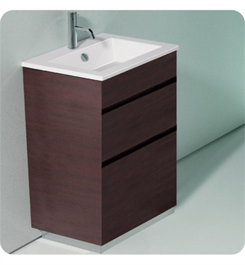Catalano ST0582SDR-V06 Star 58 Vanity Base Cabinet with Two Drawers With Finish: Walnut Crown (Wood Veneer)