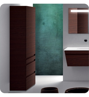 Catalano ST0703DO-H01 Star Tall 70 Floor Cabinet with Two Doors With Finish: Arctic (High Gloss)
