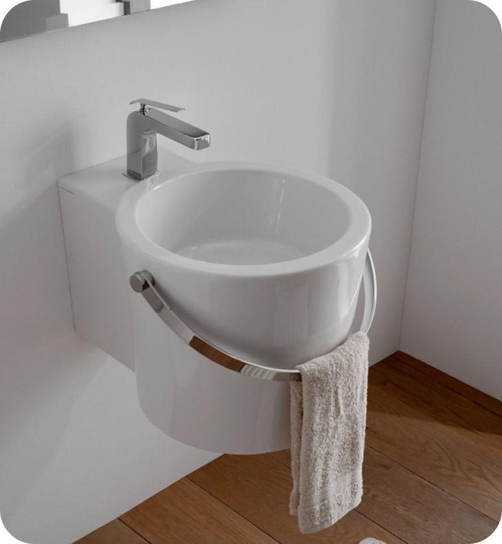 Nameeks 8804 scarabeo bathroom sink for Nameeks bathroom sinks