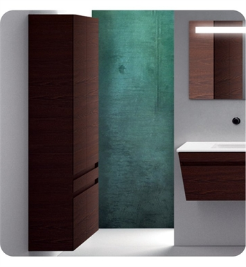 Catalano ST0702DO-H03 Star Tall 70 Wall Cabinet with Two Doors With Finish: Glacier (High Gloss)