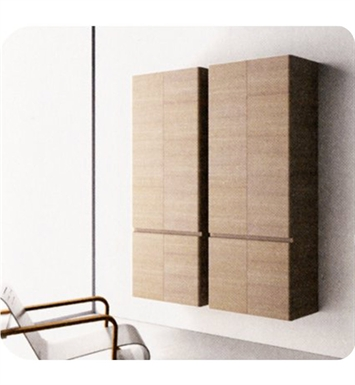 Catalano SF0704DO-P09 Sfera Tall 70 Wall Cabinet With Finish: Frost White Flame (Pattern Laminate)