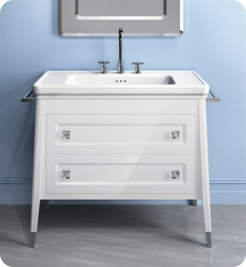 Catalano CA0602DR-L01 Canova 60 Vanity Base Cabinet with Two Drawers