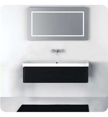 Catalano PR1251DR-H06 Proiezioni 125 Vanity Base Cabinet with One Drawer With Finish: Black (High Gloss)