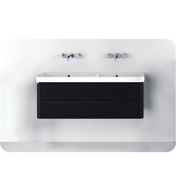 Catalano PR1202DR-P09 Proiezioni 120x42 Vanity Base Cabinet with Two Drawers With Finish: Frost White Flame (Pattern Laminate)
