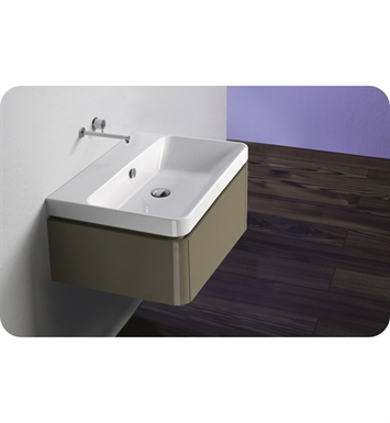 Catalano PR0421DR-P04 Proiezioni 42 Vanity Base Cabinet With Finish: Cornsilk Limosa Wave (Wood Grain Laminate)