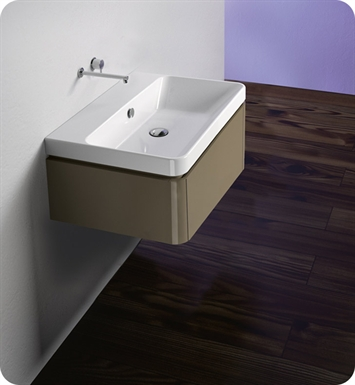 Catalano PR042S1DR-P02 Proiezioni 42x32 Vanity Base Cabinet With Finish: Grey Velvet (Pattern Laminate)