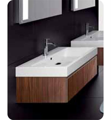 Catalano PM0601DR-P04 Premium 60 Vanity Base Cabinet with One Drawer With Finish: Cornsilk Limosa Wave (Wood Grain Laminate)