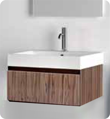 Catalano PM0501DR-V01 Premium 50 Vanity Base Cabinet with One Drawer With Finish: Walnut Burl (Wood Veneer)