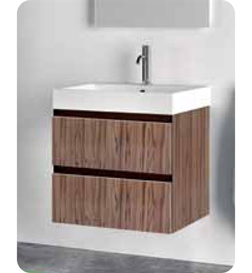 Catalano PM0502DR-P08 Premium 50 Vanity Base Cabinet with Two Drawers With Finish: Elevated Ebony High Gloss (Wood Grain Laminate)