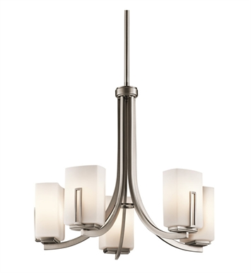 Kichler 42426AP Chandelier 5 Light in Antique Pewter