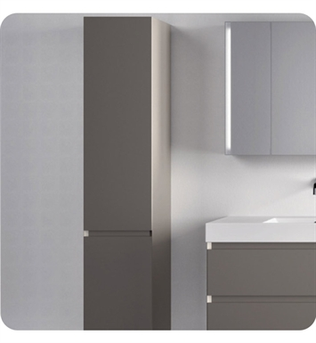 Catalano PM0352DOL-V03 Premium Tall 35 Cabinet With Cabinet Hinge: Left Side Hinge And Finish: Grey Oak Lati (Wood Veneer)