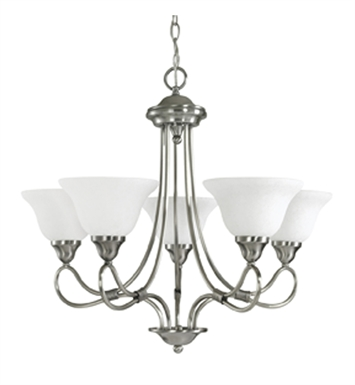 Kichler 2557OZ Stafford Collection Chandelier 5 Light With Finish: Olde Bronze