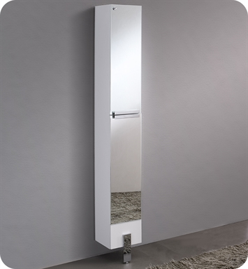 Fresca FST8110MR Adour Mirrored Bathroom Linen Side Cabinet