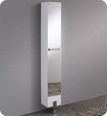 Fresca Fst8110mr Adour Mirrored Bathroom Linen Side Cabinet