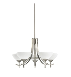 Kichler Olympia Collection Chandelier 5 Light in Antique Pewter