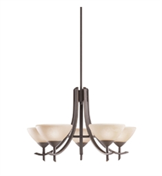 Kichler Olympia Collection Chandelier 5 Light in Olde Bronze