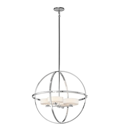 Kichler 42506 Olsay Collection Chandelier 4 Light Halogen