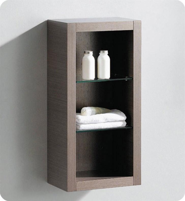 Fresca Fst8130go Gray Oak Bathroom Linen Side Cabinet With