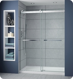Fleurco NP160 Gemini Plus Frameless Bypass 60 Sliding Shower Doors