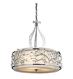 Kichler 42391CH Chandelier/ Pendant 3 Light in Chrome
