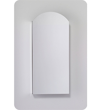 "Robern MC1630D4APLE4 M Series 15 1/4"" Wide x 4"" Deep Customizable Arched Cabinet With Cabinet Hinge: Left And Mirror Type / Lens: Pencil And Electrical Option: Electrical outlet with Interior Light, Night Light & Defogger"