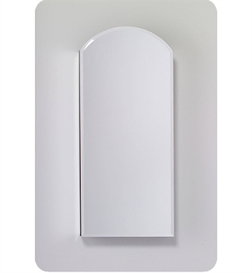 "Robern MC1630D6ABLE4 M Series 15 1/4"" Wide x 6"" Deep Customizable Arched Cabinet With Cabinet Hinge: Left And Mirror Type / Lens: Beveled And Electrical Option: Electrical outlet with Interior Light, Night Light & Defogger"