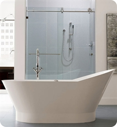 Neptune Wish O2 Freestanding Oval Soaker Tub