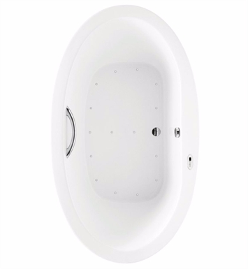 TOTO ABR794S#01N Nexus® Air Bath With Finish: Cotton And Grab Bar: None And Tub Configuration: Blower Position: Right