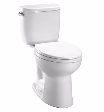TOTO CST243EF#12 Entrada™ Close Coupled Round Toilet 1.28GPF With Finish: Sedona Beige