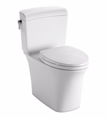 TOTO CST484CEMFG Maris® Dual Flush Two-Piece Toilet, 1.28 GPF & 0.9 GPF, Elongated Bowl