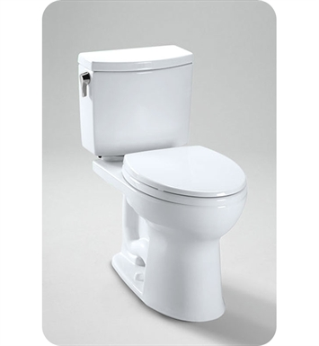 TOTO CST454CUFRG Drake® II 1G Two-Piece Toilet, Elongated Bowl, 1.0 GPF Right Hand Trip Lever