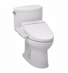 TOTO MW4542034CEFG#01 Drake® II Connect+™ C100 Two-Piece Toilet - 1.28 GPF in Cotton with Washlet