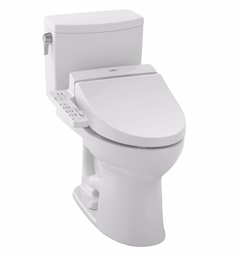 TOTO MW4542034CUFG#01 Drake® II Connect+™ C100 Two-Piece Toilet - 1.0 GPF in Cotton with Washlet