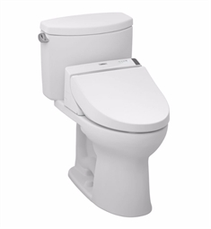 TOTO MW4542044CEFG#01 Drake® II Connect+™ C200 Two-Piece Toilet - 1.28 GPF in Cotton with Washlet