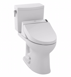 TOTO MW4542044CUFG#01 Drake® II 1G Connect+™ C200 Two-Piece Toilet - 1.0 GPF in Cotton with Washlet