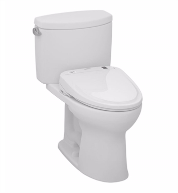 toto drake ii connect s300e twopiece toilet 128 gpf in cotton