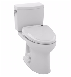 TOTO MW454574CUFG#01 Drake® II 1G Connect+™ S300e Two-Piece Toilet - 1.0 GPF in Cotton with Washlet