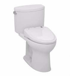 TOTO MW454584CEFG#01 Drake® II Connect+™ S350e Two-Piece Toilet - 1.28 GPF in Cotton with Washlet