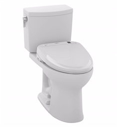 TOTO MW454584CUFG#01 Drake® II 1G Connect+™ S350e Two-Piece Toilet - 1.0 GPF in Cotton with Washlet