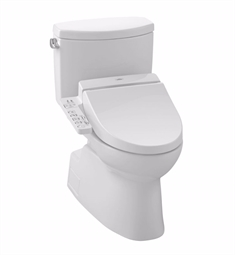 TOTO MW4742034CEFG#01 Vespin® II Connect+™ C100 Two-Piece Toilet - 1.28 GPF in Cotton with Washlet