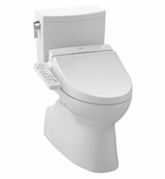 TOTO MW4742034CUFG#01 Vespin® II 1G Connect+™ C100 Two-Piece Toilet - 1.0 GPF in Cotton with Washlet