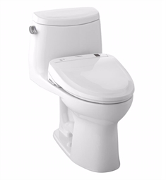 TOTO MW604574CEFG#01 UltraMax II Connect+™ S300e One-Piece Toilet - 1.28 GPF in Cotton with Washlet