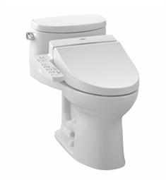 TOTO MW6342034CEFG#01 Supreme® II Connect+™ C100 One-Piece Toilet - 1.28 GPF in Cotton with Washlet