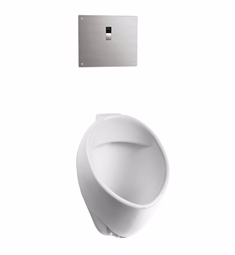 "TOTO UT105UV Commercial Washout High-Efficiency Urinal with 3/4"" Back Spud Inlet 1/8 GPF - ADA"