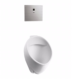 TOTO UT105UVG#01 Commercial Washout High-Efficiency Urinal, 1/8 GPF - ADA - SanaGloss®